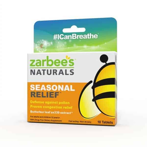Zarbees Naturals Seasonal Allergy Relief e1377317782516