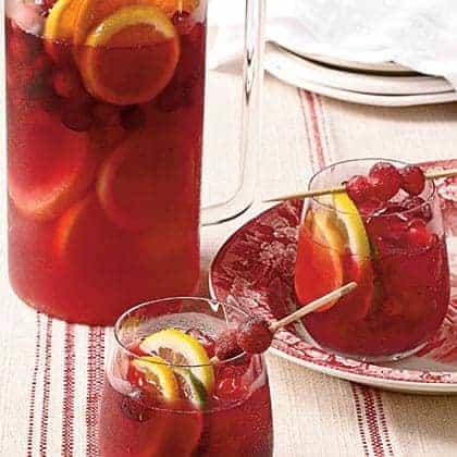cranberry sangria recipe