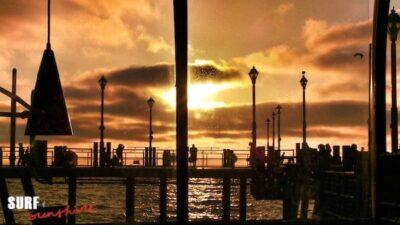 oriental breeze redondo beach sunset