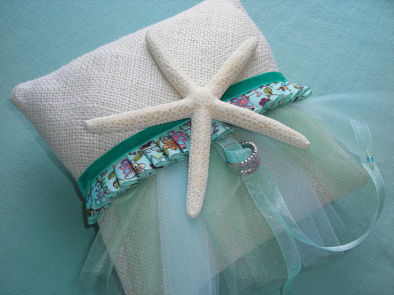 9 Destination Wedding Diy Ring Bearer Pillow Ideas Surf