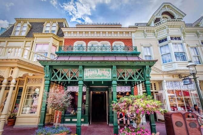 Walt Disney World Magic Kingdom Park Main Street Uptown Jewelers
