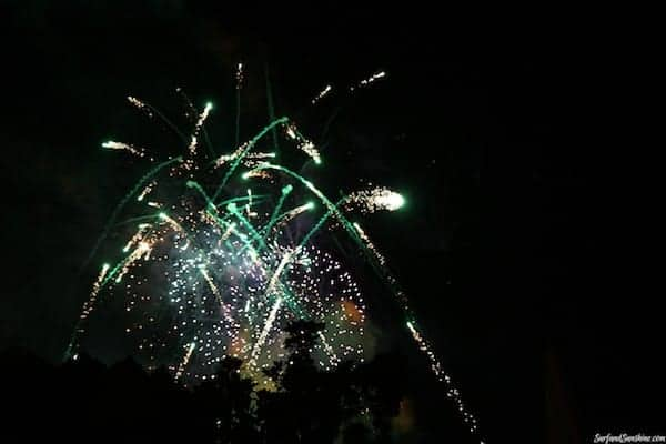 hallowishes fireworks show disneyland 1