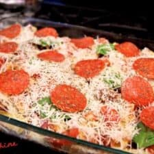 pepperoni pizza casserole recipe