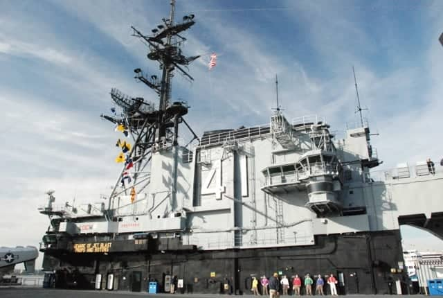 Matthew Jenkins USS Midway Museum