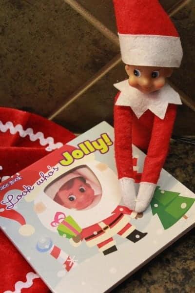 Elf on the Shelf Ideas 1