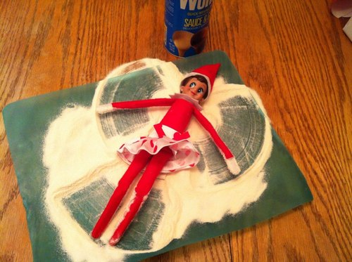 Elf on the Shelf Ideas 4