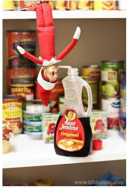 Elf on the Shelf Ideas 6