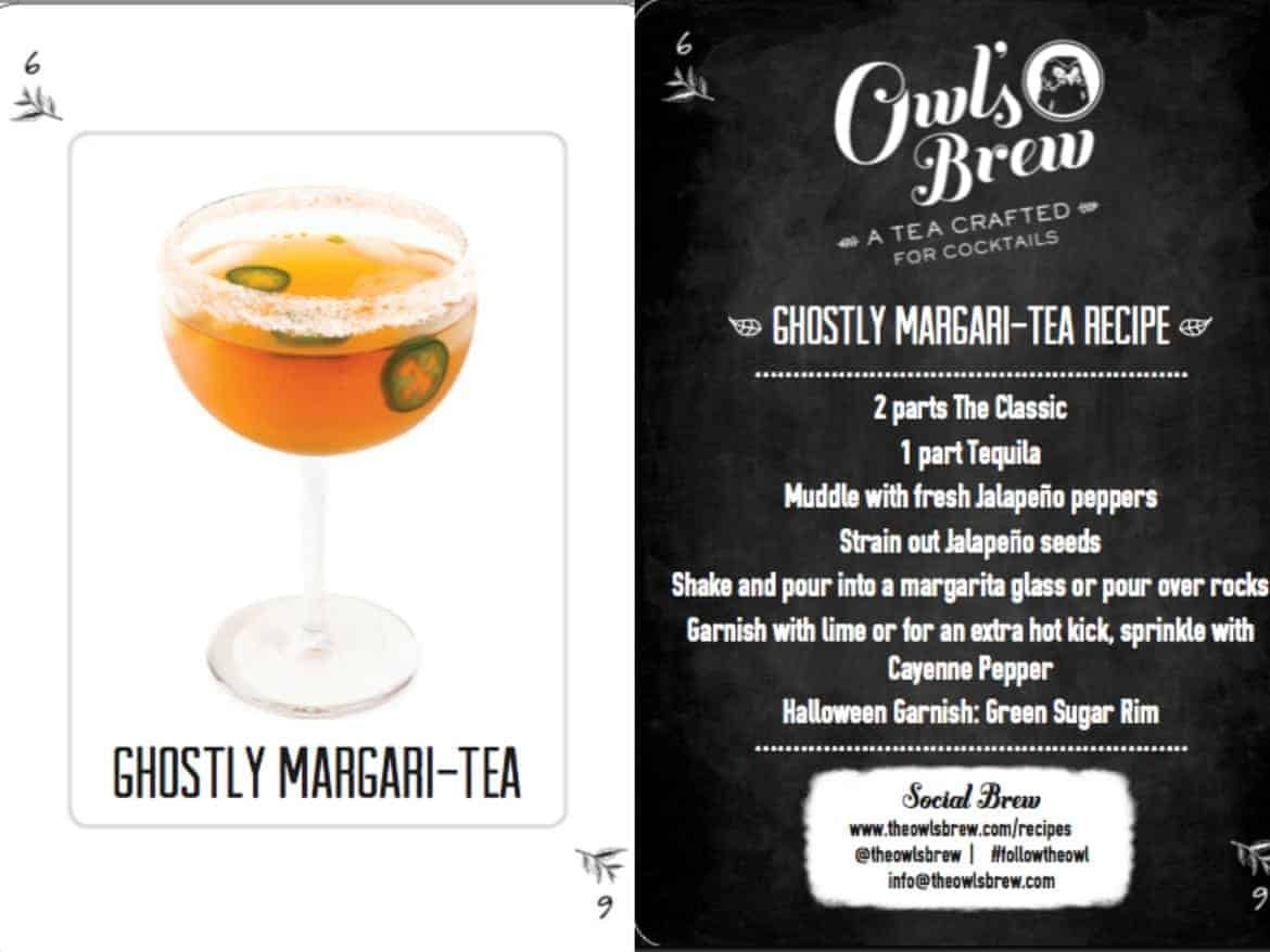 Halloween Cocktails Recipes - Ghostly Margarita