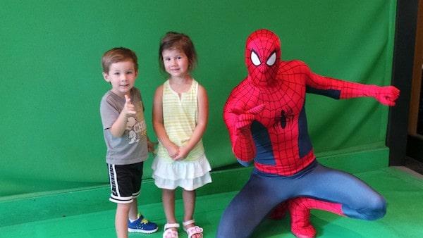 spiderman at universal studios orlando