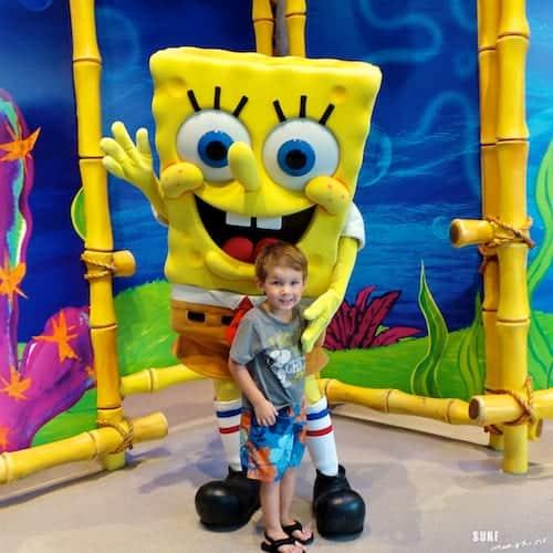 universal orlando spongebob