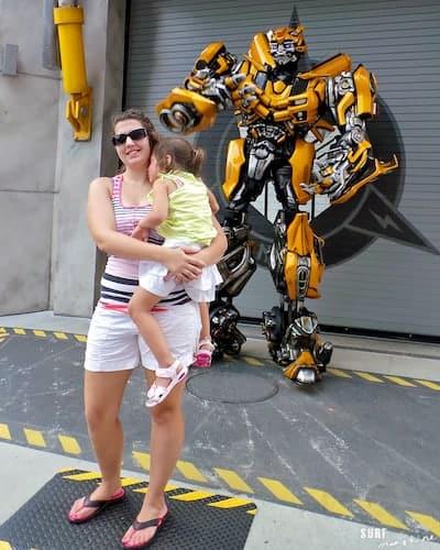 universal orlando transformers bumble bee 1