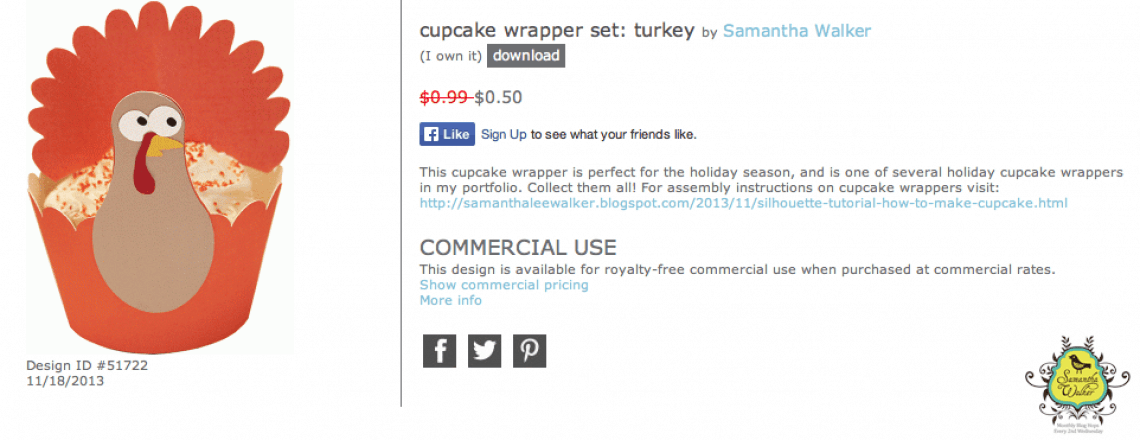 DIY turkey cupcake wrappers