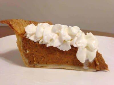 healthier pumpkin pie recipe