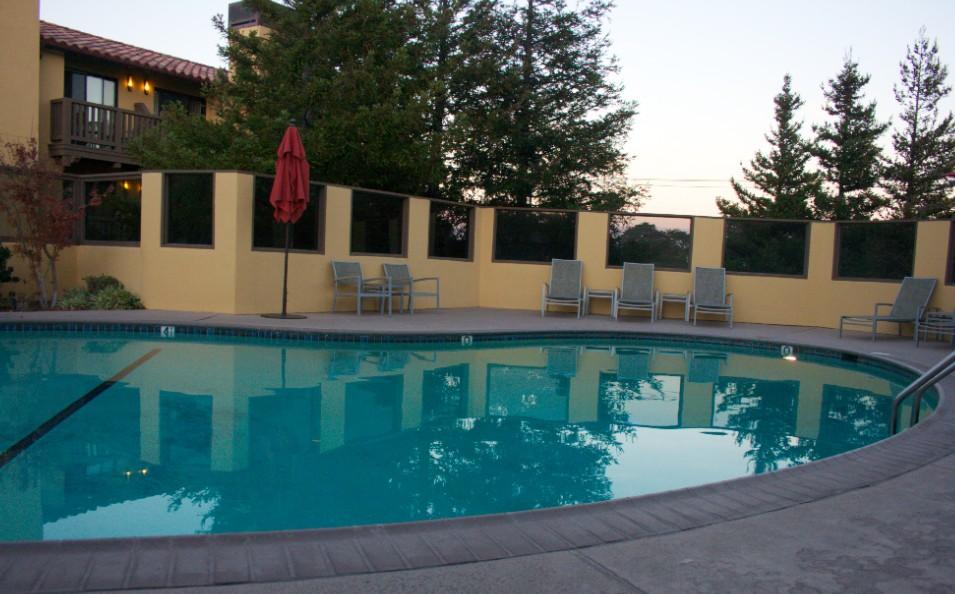 American Craftsman Style Hotel Abrego Monterey CA  pool