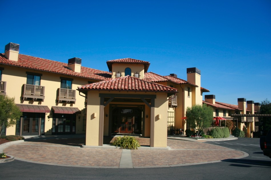 American Craftsman Style Hotel Abrego Monterey CA