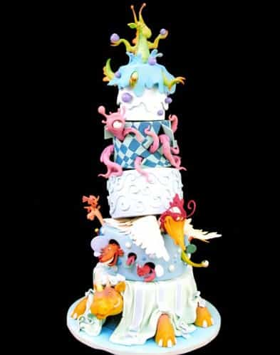 Craziest Wedding Cakes 3
