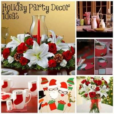 Holiday Party Decor Ideas