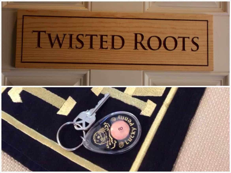 Twisted Room Door Key