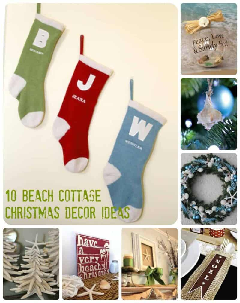 10 Beach Cottage Christmas Decor Ideas Surf And Sunshine