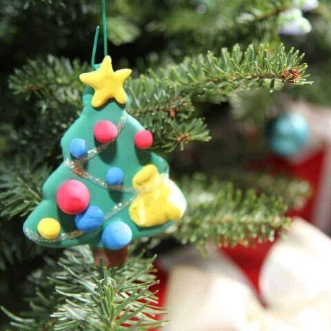 crayola model magic custom christmas ornament