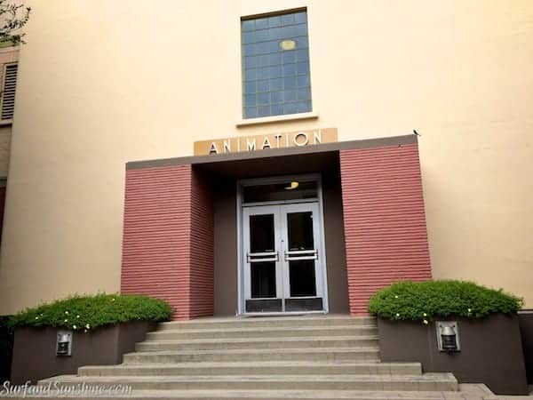 walt disney studios animation building