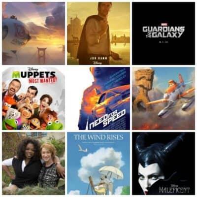 2014 Disney Movies