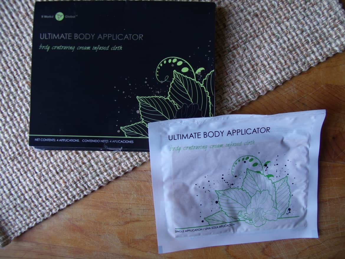 It Works Body Wraps Results After 4 Applications