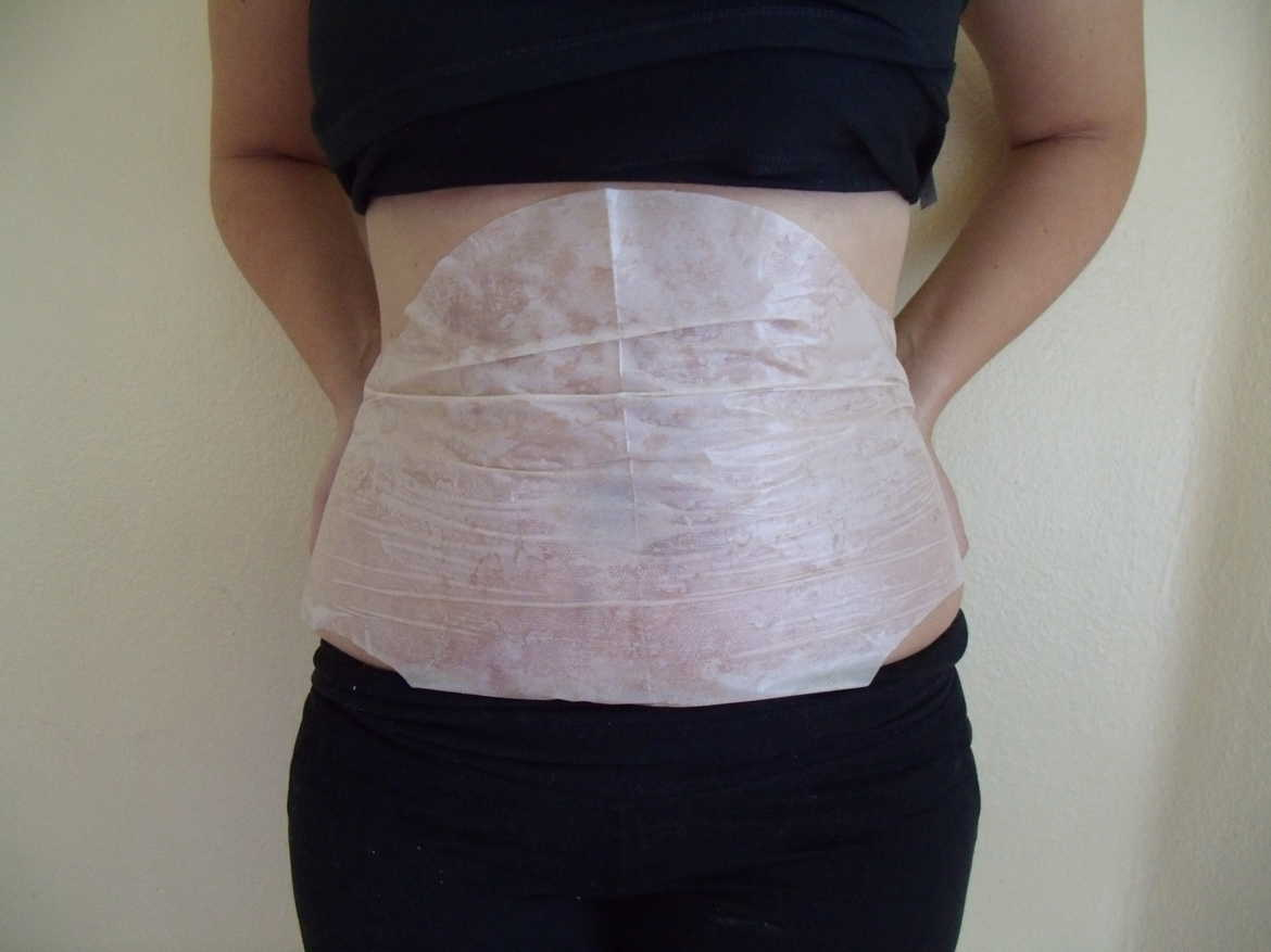 How to put on It Works body wrap