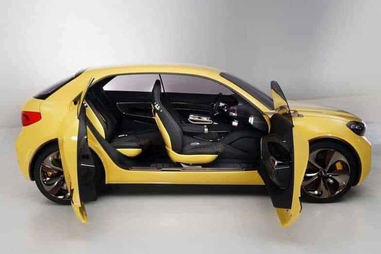 kia KND7 concept car doors