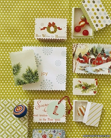 Repurpose Christmas Cards