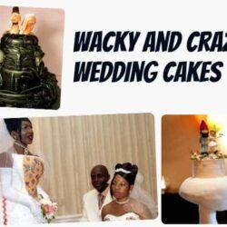 Eight Wacky and Crazy Wedding Cakes