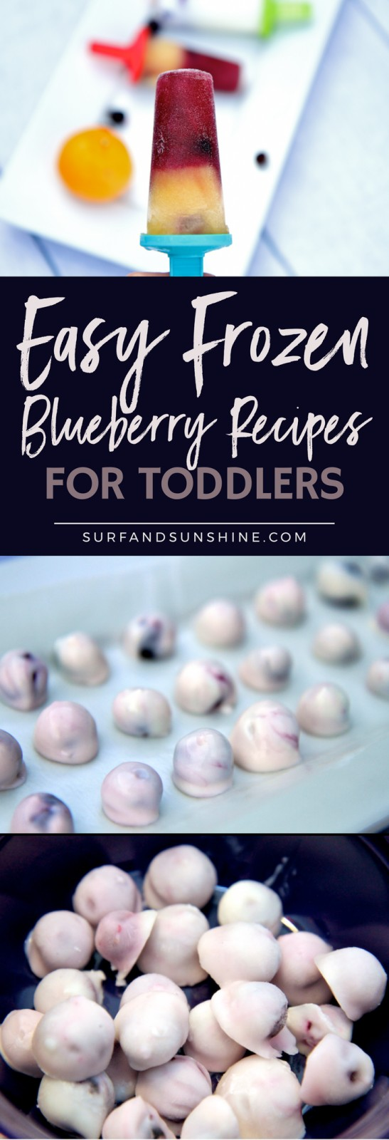 easy frozen blueberry recipes for toddlers