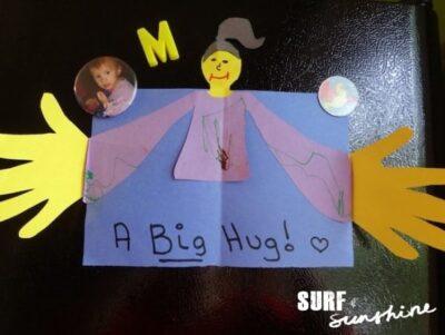 DIY Father's Day Craft: A Big Hug Card