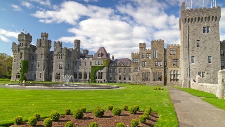 Ashford Castle - Cong, Ireland  Castles you can stay in
