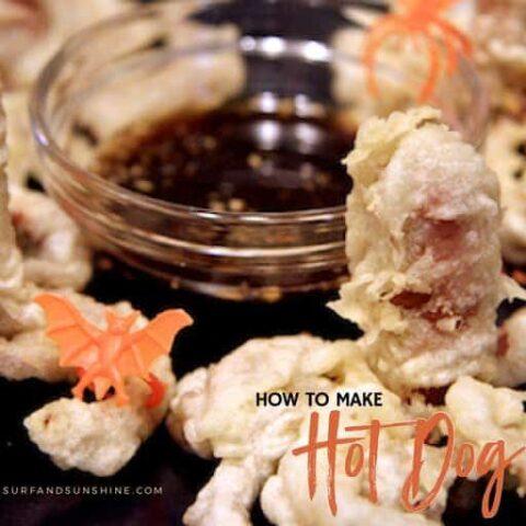 hot dog octopus recipe twitter