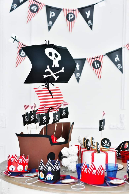 Pirate Birthday Party Ideas (2)