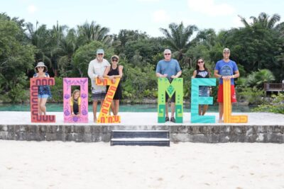 family vacation in cozumel cruise stop