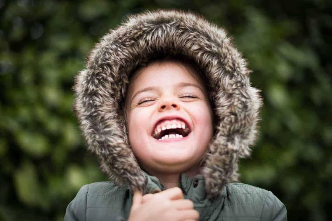 child laugh teeth smile