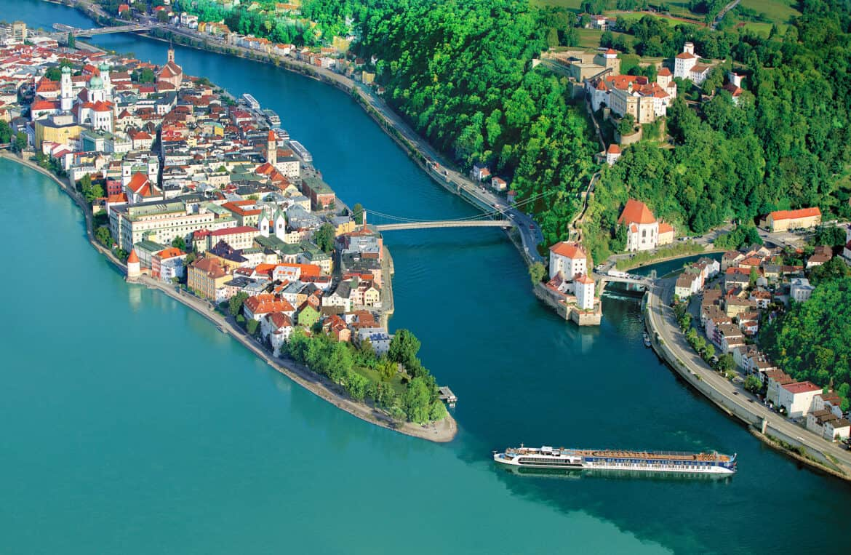 AmaWaterways AmaPrima in Passau