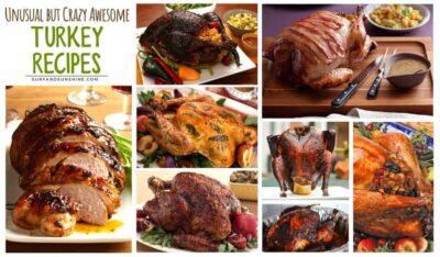 unusual turkey recipes