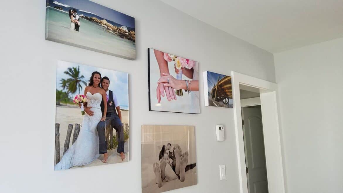 how to choose wood metal canvas or acrylic for your photographs