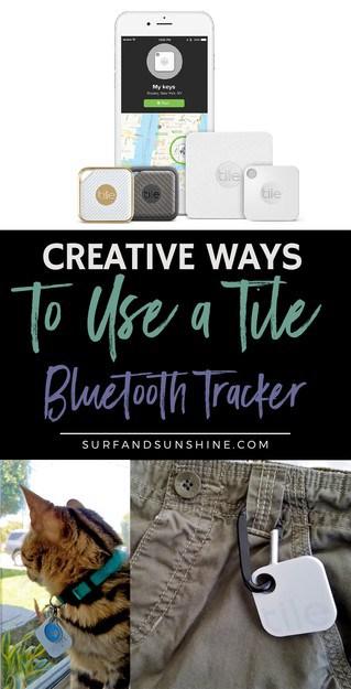 creative ways to use a tile bluetooth tracker