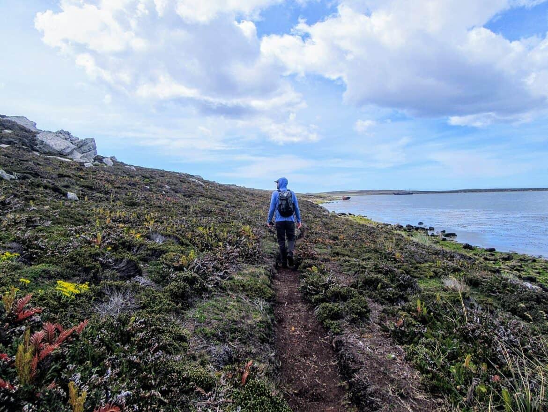 hiking falkland islands