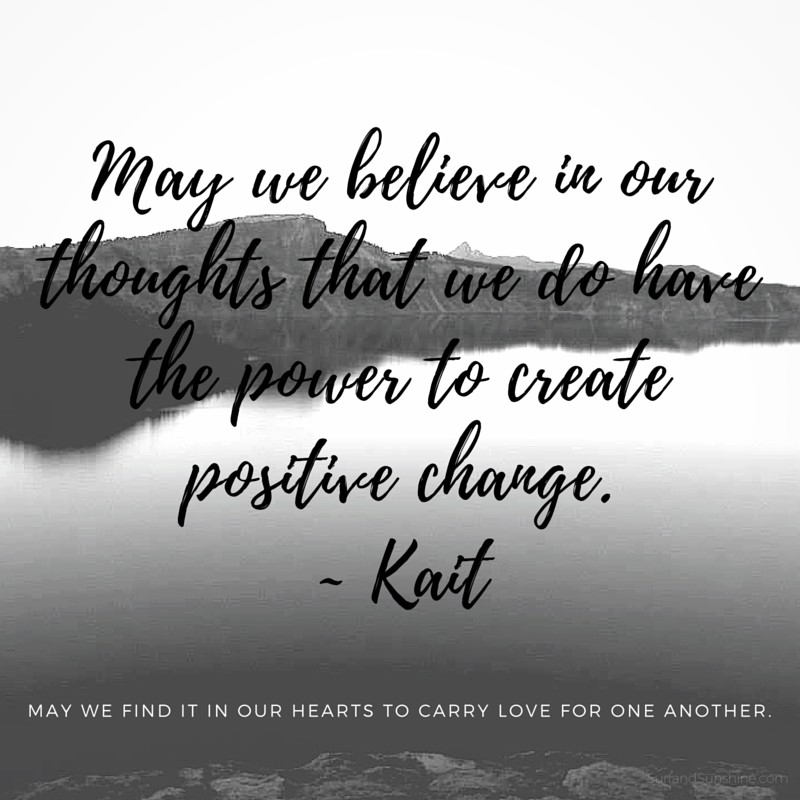 power to create positive change