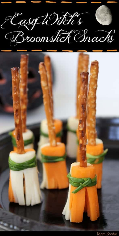 halloween treat recipe witch broomstick snacks