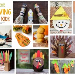 12 Really Awesome DIY Thanksgiving Crafts for Kids