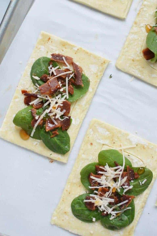 Savory spinach danish 4