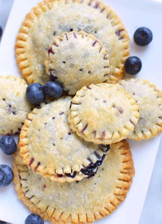 blueberry mini pies recipe