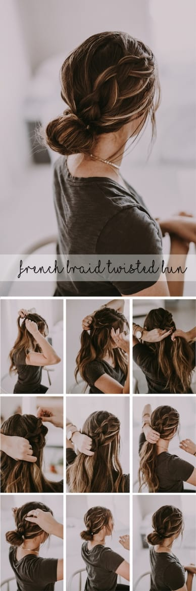 easy hairstyles for travelers