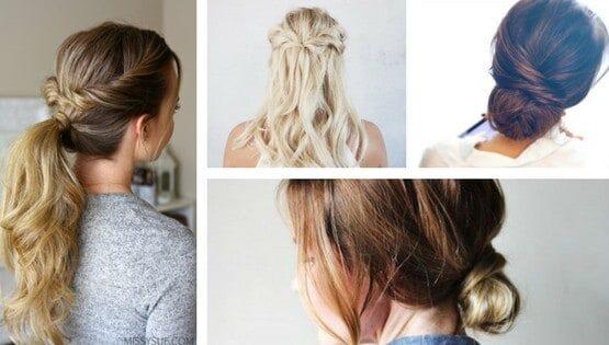 easy hair styles for travelers